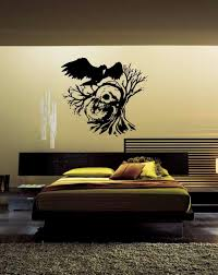 Crow Bird Flying Scary Spooky Tree Scenery Wall Stickers Vinilos Decorativos Pared Vinyl Decoracion Boys Living Room Stickers Stickers Wall Decals Stickers Wall Decor From Onlybrand 10 45 Dhgate Com
