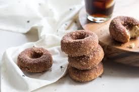 gluten free cinnamon sugar cake donuts