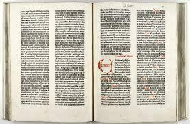 Gutenberg Bible - SMU