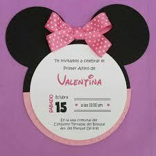 Invitacion Minnie Invitaciones Minnie Tarjeta De Cumpleanos Minnie Tarjetas De Invitacion Minnie