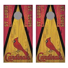 Saint Louis Cardinals Corn Hole Board Decal Wrap Let S Print Big