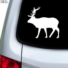 Moose Elk Decal For Car Window Stickany
