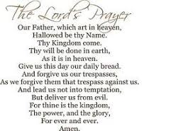 Lord S Prayer Our Father Who Art In Heaven Very Large Vinyl Wall Decal Ebay