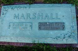 Robbie Lee Ivy Marshall (1881-1964) - Find A Grave Memorial