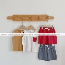 Bộ phối túi Hàn Quốc cho bé Trai - LÀM ĐẸP CHO BÉ