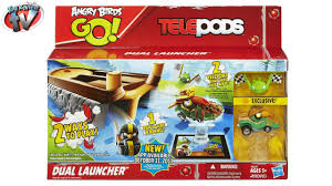 Angry Birds GO! Telepods Dual Launcher Play Set Toy Review, Hasbro ...