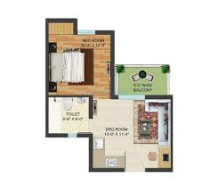 1 bhk 500 sq ft apartment for in