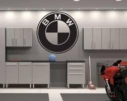 Bmw Logo Wall Decal Art Car Brand Racing Bmw Vinyl Wall Etsy Decal Wall Art Logo Wall Wall Decals