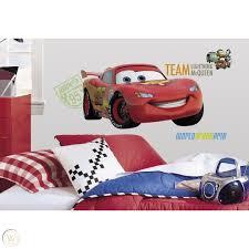 Giant Wall Decal Bundle Disney Pixar Cars 2 Lightning Mcqueen Mater Kid Room 1839912923