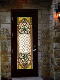 stained glass for doors