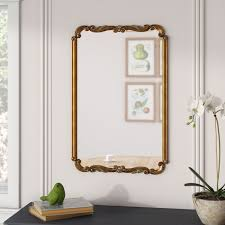 rectangle gold wall mirror reviews