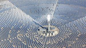concentrated solar power molten salt