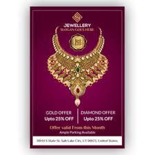 jewellery poster templates psd 11