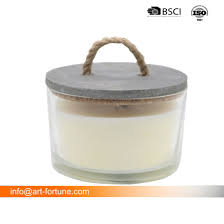 china large multiwick scended candle in