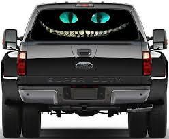 Cheshire Cat Alice In Wonderland Rear Window Decal Sticker Car Truck Suv Van 681 Ebay