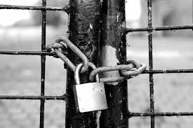 Hd Wallpaper Grayscale Photography Of Gate With Padlock And Chain Fence Castle Wallpaper Flare