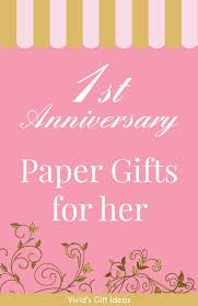 18 paper anniversary gift ideas for her