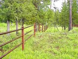 Rmr June 2012 Articles Farm And Ranch Improvement Fence Landscaping Backyard Fences Natural Fence