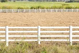 White Wash Fence On A Vast Land Stock Photo Picture And Royalty Free Image Image 22074558