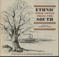 Winifred Smith - Ethnic Folk Songs From The South (1962, Vinyl ...