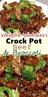 Pin by Effie Hoffman on Food   Crockpot beef and broccoli, Healthy crockpot  recipes, Food network recipes