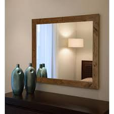 non beveled vanity wall mirror