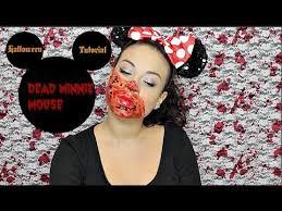 dead minnie mouse makeup