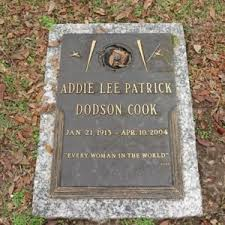 Addie Lee (Patrick) Cook (1913-2004) | WikiTree FREE Family Tree