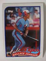 Details about 1989 Topps Wallace Johnson Montreal Expos Wrong Back Error  Baseball Card | Baseball cards, Baseball, Expos