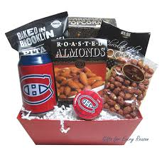 nhl montreal canans gift basket