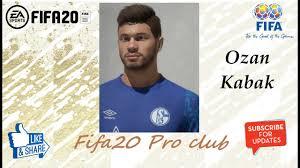 FIFA 20 Ozan Kabak Look alike in Schalke04 // Fifa20 Pro club - YouTube