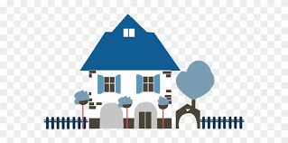 Cartoon House With Picket Fence House Cartoon With Fence Free Transparent Png Clipart Images Download