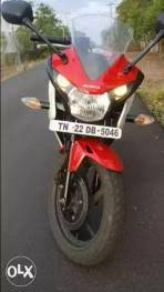 30 used honda cbr 150r in chennai