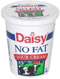 daisy no fat sour cream 1 lb