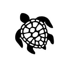 Honu Hawaiian Sea Turtle Vinyl Decal Car Window Laptop Mirror Sticker Ebay