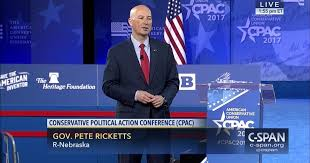 Governor Pete Ricketts at 2017 Conservative Political Action Conference |  C-SPAN.org