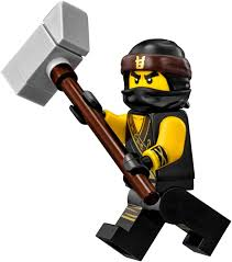 Amazon.com: LEGO The Ninjago Movie Cole Minifigure (in Ninja Suit with  Weapon) 70618: Toys & Games
