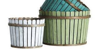 Picket Fence Baskets House Beautiful Favorite Products November 7 2013