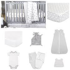 essentials 11 piece crib bedding set