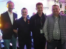 ABTT Theatre Show 2015 | 2018_0502PLASAFocusLeeds0001 | An AC Entertainment  Technologies group of Neil Vann, Jack Moorhouse, Jonathan Walters and Aaron  Cripps (AC-ET Ireland).