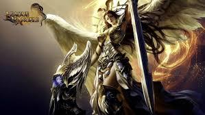 angels fantasy angel warrior league