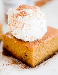 skinny pumpkin pie bars recipe diaries