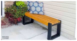 simple 2x4 bench plans build an easy