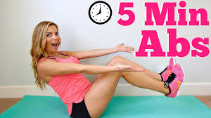 5 minute abs workout you