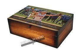 softball player memory box gifts