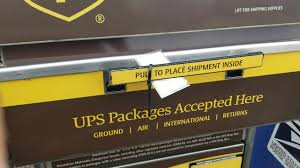 Is the UPS shipping drop off box secure ...
