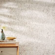 colored cork wallpaper west elm