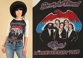 vintage s grateful dead tour t shirt th