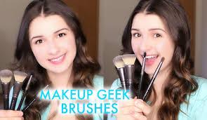 review of makeup geek brushes