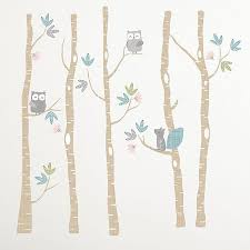 Levtex Baby Everly Woodland Creatures Wall Decals Set Of 2 Bed Bath Beyond